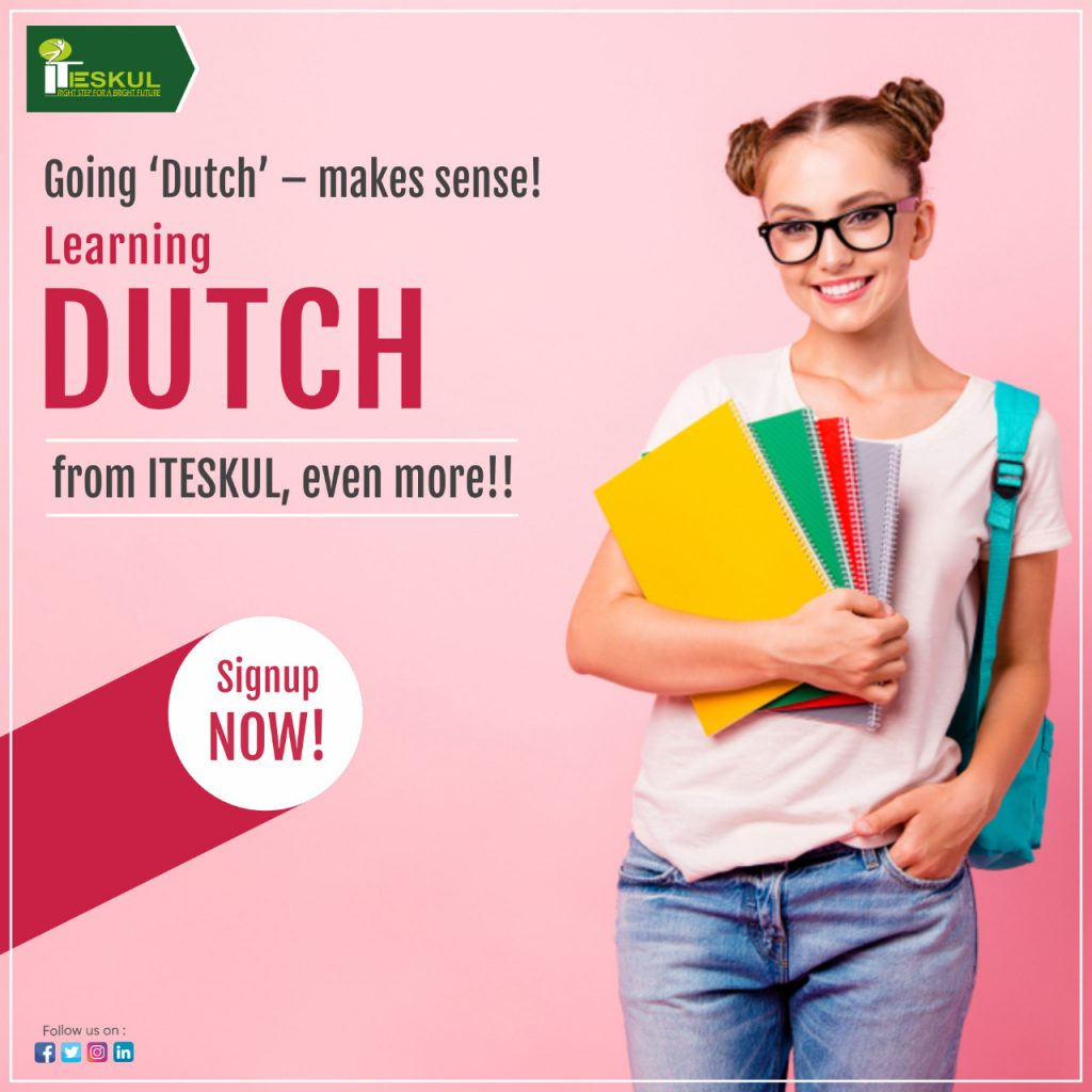 Dutch language courses at ITESKUL
